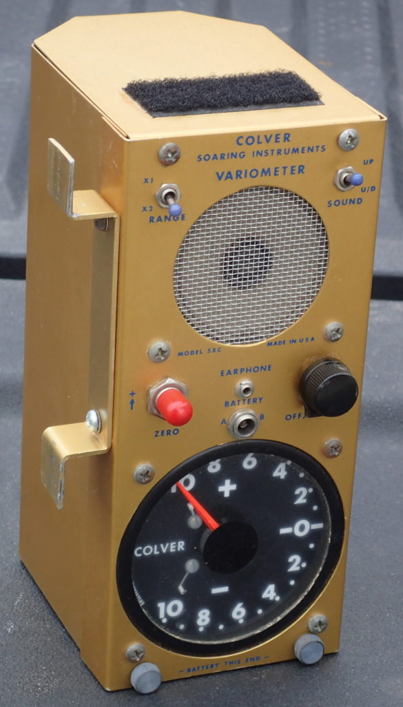 The Colver variometer - late model with the meter as well as sound.
